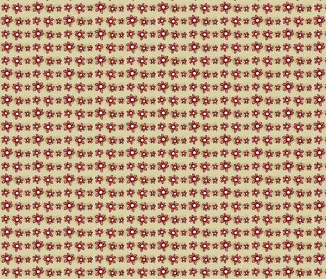 Daisies of her dreamy garden fabric by catru on Spoonflower - custom fabric