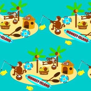 life's a Beach / monkey island