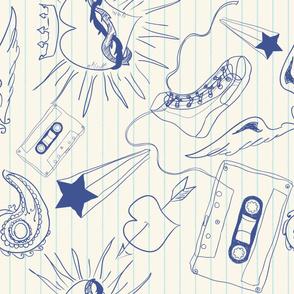 Doodle Art Vertical