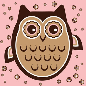 Owl Party Pink