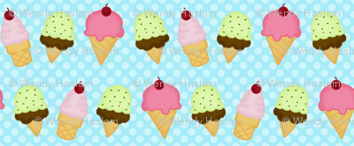 icecream blue dot