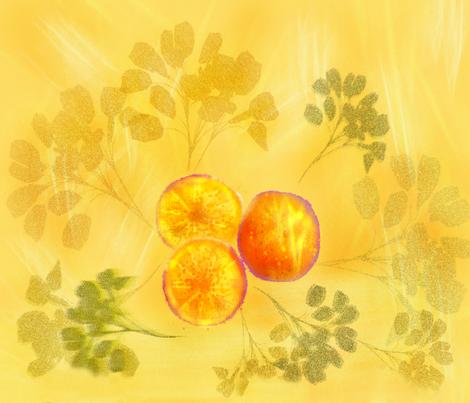 Sunny Day Oranges fabric by art2art on Spoonflower - custom fabric