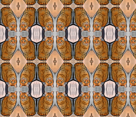 Firefox fabric by janejo on Spoonflower - custom fabric