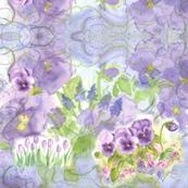 Grape Hyacinth Purple Swirl