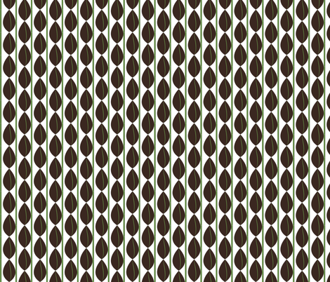 barista abacus fabric by terriaw on Spoonflower - custom fabric