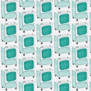 Turquoise TVs
