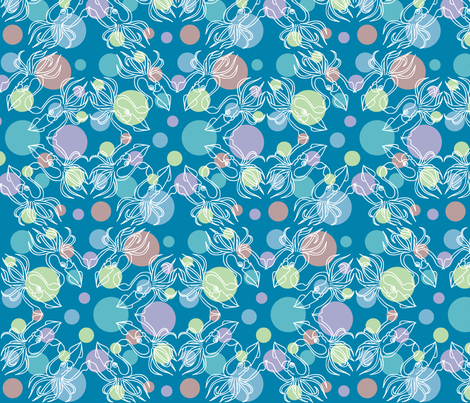 Squid Pro Quo fabric by shadowfell on Spoonflower - custom fabric