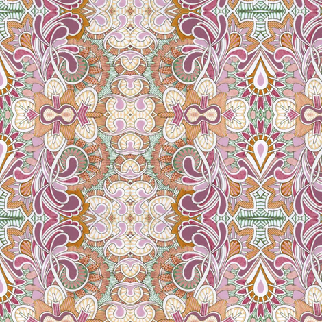Queen Victoria's closet fabric by edsel2084 on Spoonflower - custom fabric