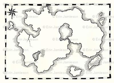 Desert Island Map