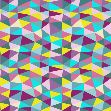 triangle twist fabric by flowerpress on Spoonflower - custom fabric