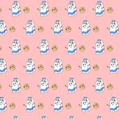 milk&cookie pink