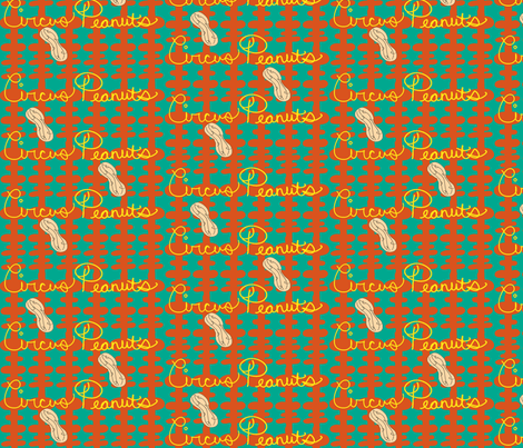get_your_peanuts fabric by palmrowprints on Spoonflower - custom fabric