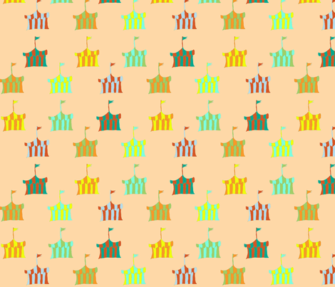 circus_tents fabric by fabricfarmer_by_jill_bull on Spoonflower - custom fabric