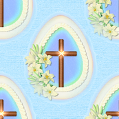 Window Egg Cross