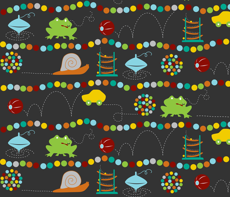 rowsoffun fabric by mrshervi on Spoonflower - custom fabric