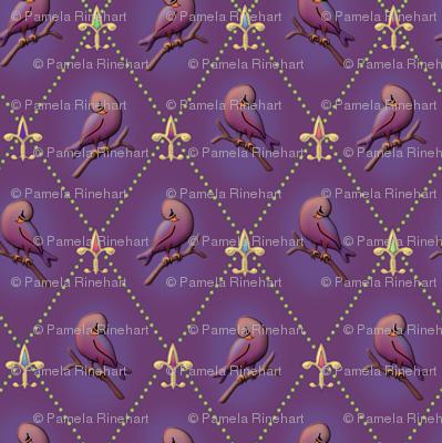 ©2011 Purple Finch and Fleur de Lis