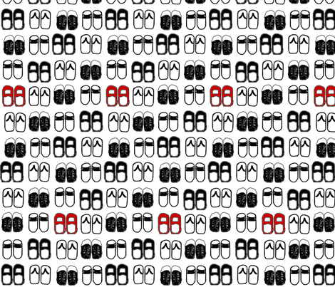 Kicks fabric by stickelberry on Spoonflower - custom fabric