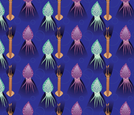 squids_abound fabric by ayisha1978 on Spoonflower - custom fabric