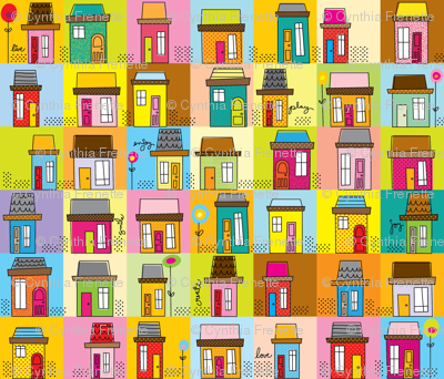 Happy Lil' Houses