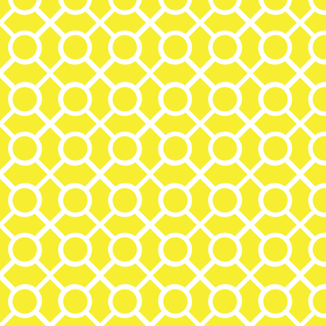 Dots n Lines Sun fabric by dolphinandcondor on Spoonflower - custom fabric