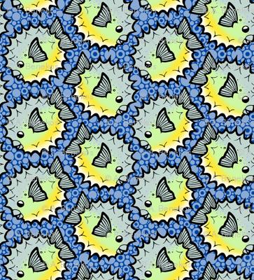 Porcupine Puffer Pattern