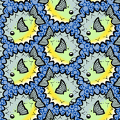 Porcupine Puffer Pattern