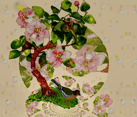spring is in the air fabric by paragonstudios on Spoonflower - custom fabric