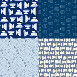 Design Crafty Kitchen - 4 fat quarters