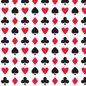 In Wonderland: Hearts, clubs, diamonds, & spades