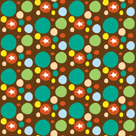 circusball-ch fabric by fabricfarmer_by_jill_bull on Spoonflower - custom fabric