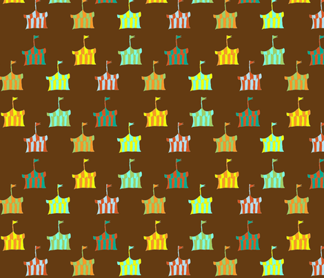 circus_tents-ch fabric by fabricfarmer_by_jill_bull on Spoonflower - custom fabric