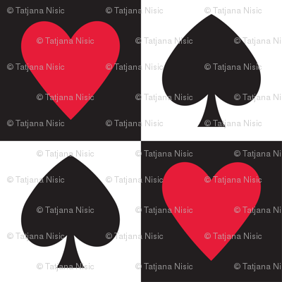 In Wonderland: Hearts and Spades