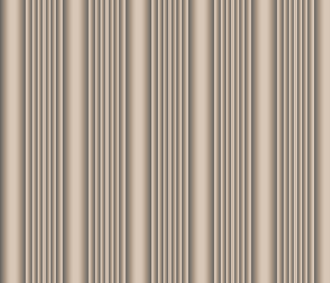 Sculpted Beige Stripe © 2009 Gingezel™ Inc. fabric by gingezel on Spoonflower - custom fabric
