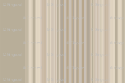 Broad Stripe in Beige on Beige © 2011 Gingezel™ Inc.