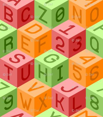 alphanum cubes ROL