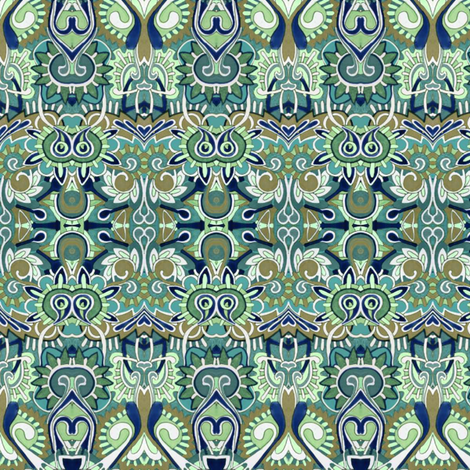 Egyptian Speakeasy fabric by edsel2084 on Spoonflower - custom fabric