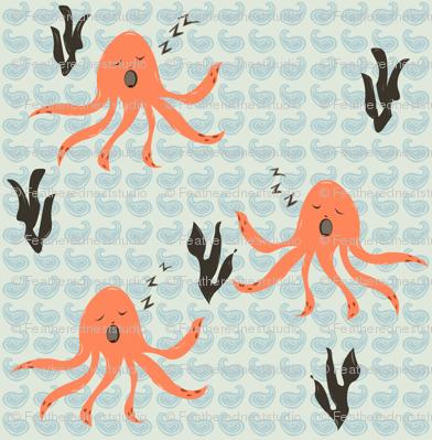 Sleeping Squid