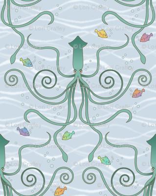 a squid ballet