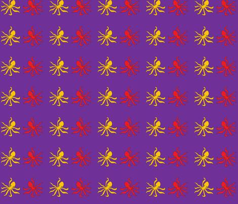 krake2 fabric by zebraeule on Spoonflower - custom fabric