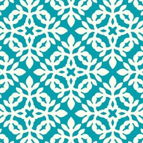 BRIGHT BLUE-TURQUOISE & cream mini-papercut2