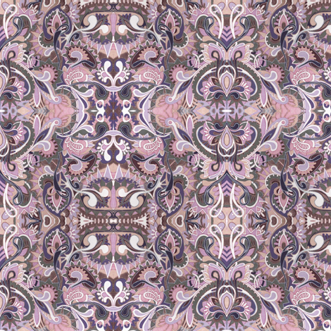 Along the Paisley Paths fabric by edsel2084 on Spoonflower - custom fabric