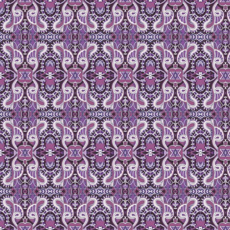 Fly Away Purple Wings  fabric by edsel2084 on Spoonflower - custom fabric