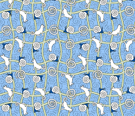 ©2011 What Little Boys Are Made Of fabric by glimmericks on Spoonflower - custom fabric