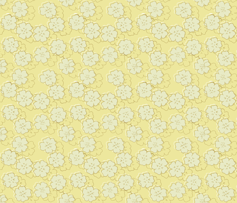 Spring Primrose fabric by woodledoo on Spoonflower - custom fabric