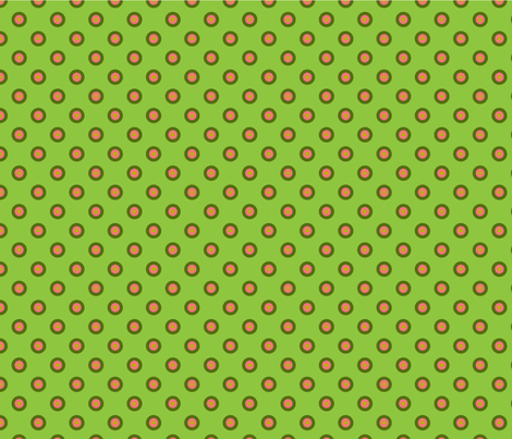poupée_russe_vick_vert_4_for_1 fabric by nadja_petremand on Spoonflower - custom fabric