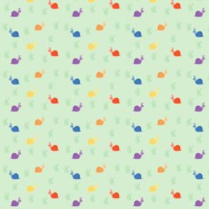 Rainbow Snails