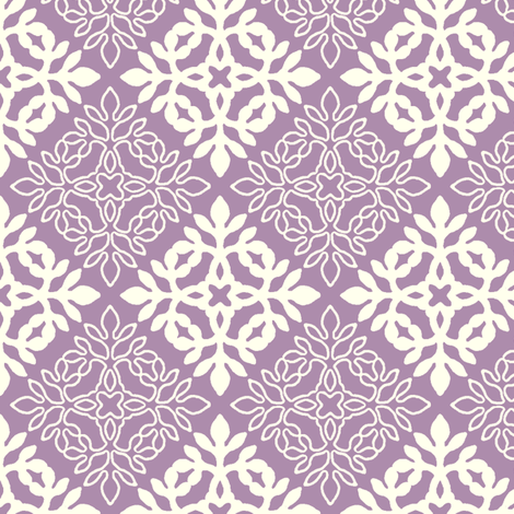 MAUVE mini-papercut3-solid-outlines fabric by mina on Spoonflower - custom fabric