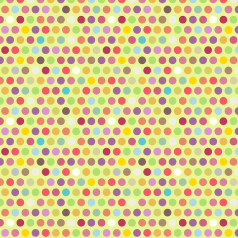 candy teeny polka fabric by scrummy on Spoonflower - custom fabric