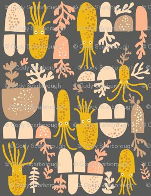 squid in marigold