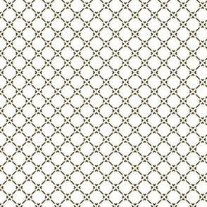 Rococo Lattice - Large white